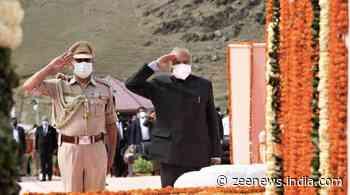 22nd Kargil Vijay Diwas celebrated at Kargil war memorial
