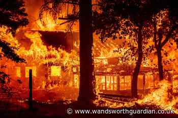 California's largest fire torches homes as blazes lash western US - Wandsworth Guardian