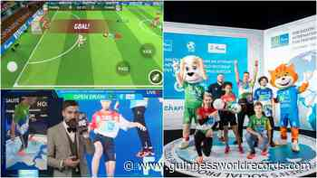 Football for Friendship scores third world record with mobile app - Guinness World Records