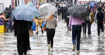 Thunderstorms and heavy rain to hit the North East bringing heatwave to an end