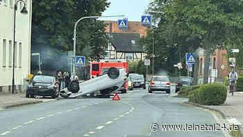 Seat landet auf dem Dach - leinetal24.de