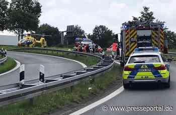 POL-MS: Motorradfahrer verstirbt nach Alleinunfall am Verkehrskreuz Gronau-Ochtrup - Presseportal.de