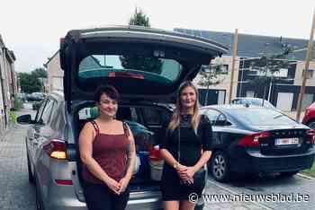 """Caro en Claudia mobiliseren half Niel: """"Nog altijd plaatsen waar ze amper hulp hebben gezien"""""""