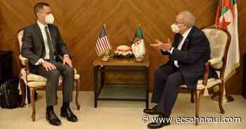 Ministro de Exteriores de Argelia recibe al subsecretario de Estado estadounidense encargado de Oriente Medio. - www.ecsaharaui.com