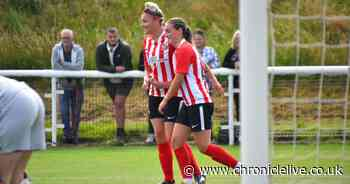 Sunderland ladies come from behind to pick up first win of pre-season