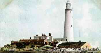 The story of St Mary's Island and its lighthouse in words and photographs