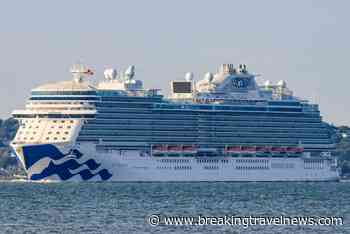 Sky Princess arrives in Southampton ahead of summer season - Breaking Travel News