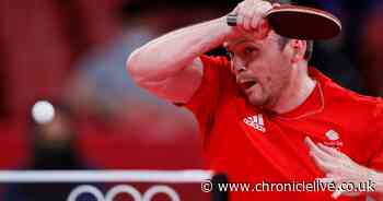 Middlesbrough table tennis star Drinkhall swaps tent-pitching for progression