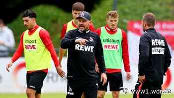 Kader-Verkleinerung:FC-Coach Baumgart kündigt Gespräche an