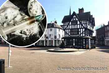 Hereford drug dealer caught concealing large package of heroin on his body