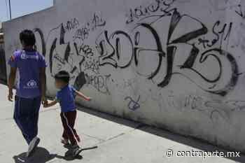 Combate San Pedro Cholula los grafitis de fachadas y portones de la zona centro - Noticias de Hoy Puebla | Contraparte | Periodismo en Equilibrio | - Contraparte