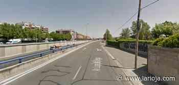 Un vecino de Lardero, trasladado al hospital San Pedro tras sufrir una caída de moto - La Rioja