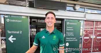 Love Island winner Greg O'Shea competing for Ireland at Olympics