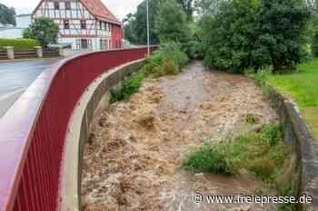 Bärenwalde erlebt lokalen Regenguss - Freie Presse