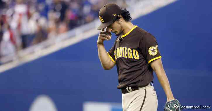 Padres drop series finale to Marlins 9-3