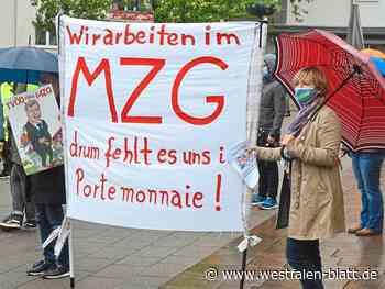 Verdi ruft MZG-Beschäftigte erneut zum Streik auf