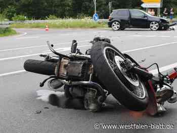 Unfall beim Auffahren auf die L770