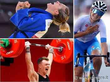 Olimpiadi di Tokyo: Italia al sesto posto nel medagliere con i bronzi di Giuffrida, Zanni e Longo Borghini - Corriere della Sera