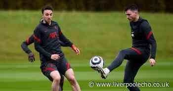 Jurgen Klopp confirms Liverpool return plan for Andy Robertson and Diogo Jota