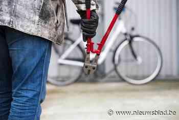 Dief prutst aan slot maar kan fiets niet stelen