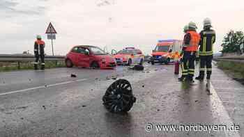 Vier Verletzte bei Unfall auf der B466 bei Gunzenhausen - Nordbayern.de