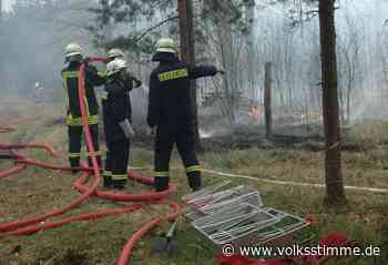 Genthin als Waldbrandzentrale für Sachsen-Anhalt bewusst ausgebremst? - Volksstimme