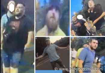 Police want to find football fans after racist abuse in Hereford