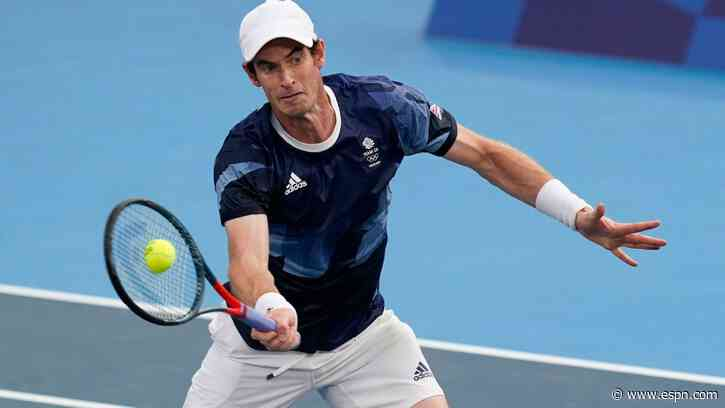 Andy Murray (quad) withdraws from Tokyo Olympics singles tennis tournament, remains in doubles - ESPN