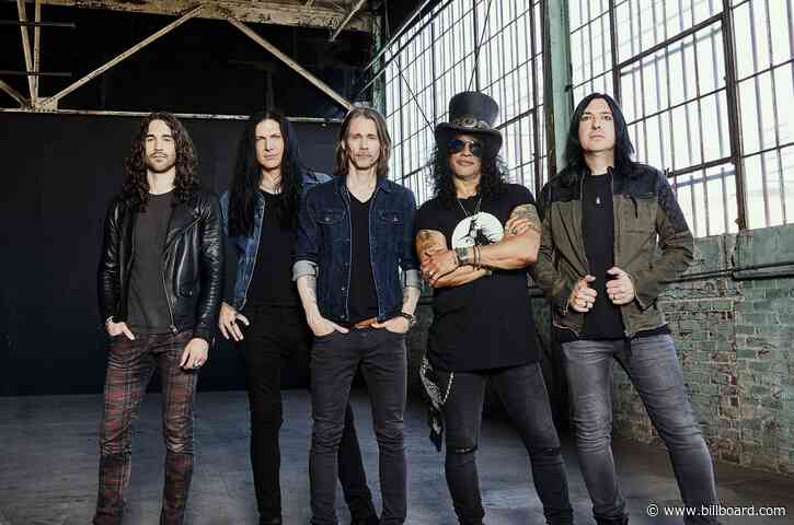 Gibson Launches Record Label, to Release Slash Album Next Year