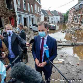 Wie zware schade leed door overstromingen heeft recht op tijdelijke werkloosheid