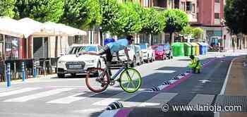 Carril bici sí, pero no así - La Rioja