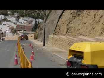 Queda cortada al tráfico la calle Niña de Antequera con el inicio de las obras de mejora - Las 4 Esquinas