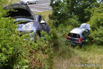 Nissan landet in Hoyerswerda tief im Busch: Was war denn da los? - TAG24