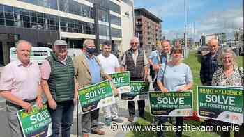 Local forestry owners attend IFA demo in Dublin - Westmeath Examiner