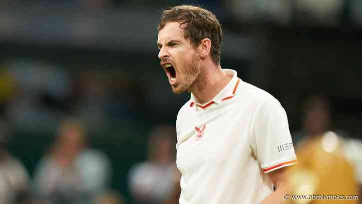 Defending Olympic champion Andy Murray withdraws from Tokyo singles competition - NBC Olympics