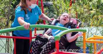 Inclusive play garden opens at St Oswald's Hospice after £30,000 donation