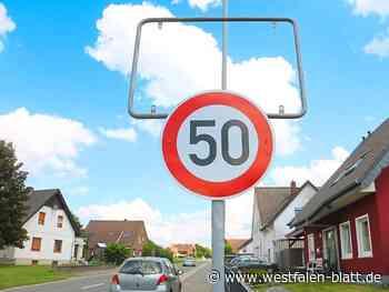 Kurios: Tempo-50-Schild ersetzt vorerst gestohlene Ortstafel