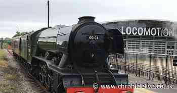 Flying Scotsman's Durham visit is only chance to see steam loco up close