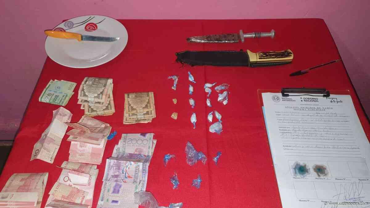 Incautan droga dentro de un prostíbulo en Caaguazú - ÚltimaHora.com