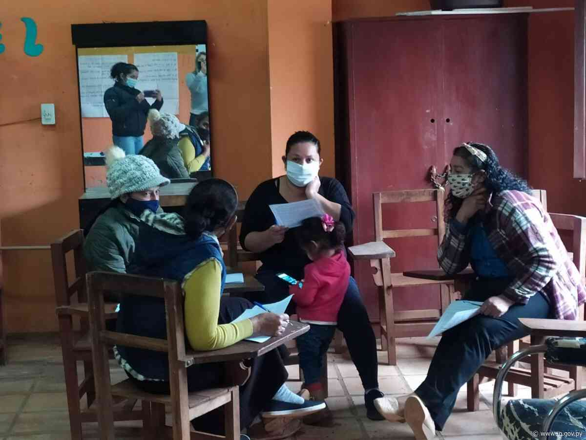Madres de Caaguazú participaron de taller sobre crianza positiva | - ip.gov.py