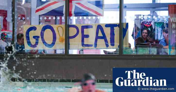 Adam Peaty's Olympic gold prompts pride and pool party in Uttoxeter