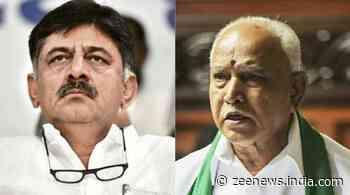 `Let Yediyurappa reveal who was responsible for his tears,` says K`taka Cong President DK Shivakumar