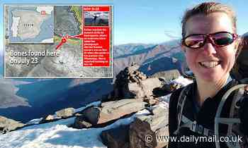 Wild animals moved human remains linked to missing British hiker Esther Dingley, police believe - Daily Mail