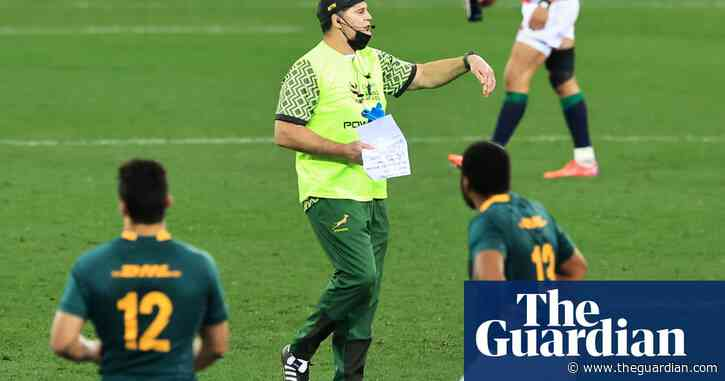 South Africa's Rassie Erasmus has abandoned grace and dignity   Robert Kitson