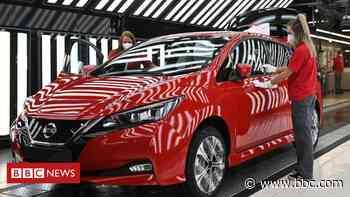 Nissan reveals 400 new jobs in manufacturing at Sunderland plant - BBC News
