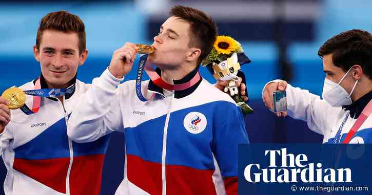 Russian gymnasts edge out Japan in thrilling Olympic men's team final
