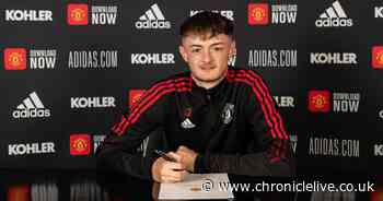 Former SAFC youngster Joe Hugill pens long term contract with Man. United