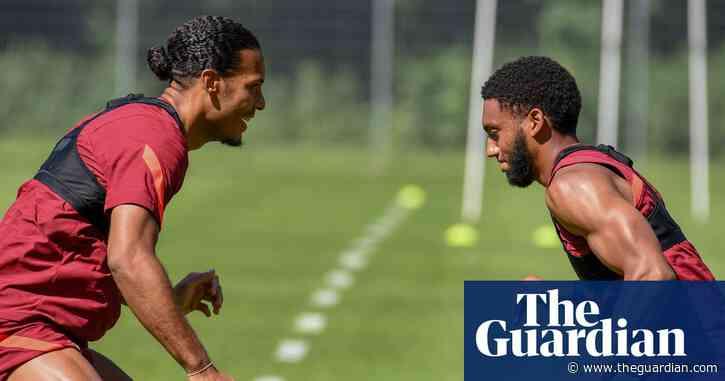 Virgil van Dijk set to return for Liverpool after nine months out with injury