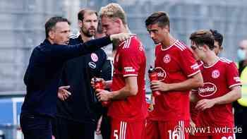 Fußball, 2. Bundesliga: Fortuna Düsseldorf: Preußer sieht mehr Licht als Schatten