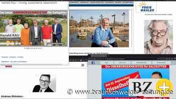 So machen sich die OB-Kandidaten in Salzgitter online